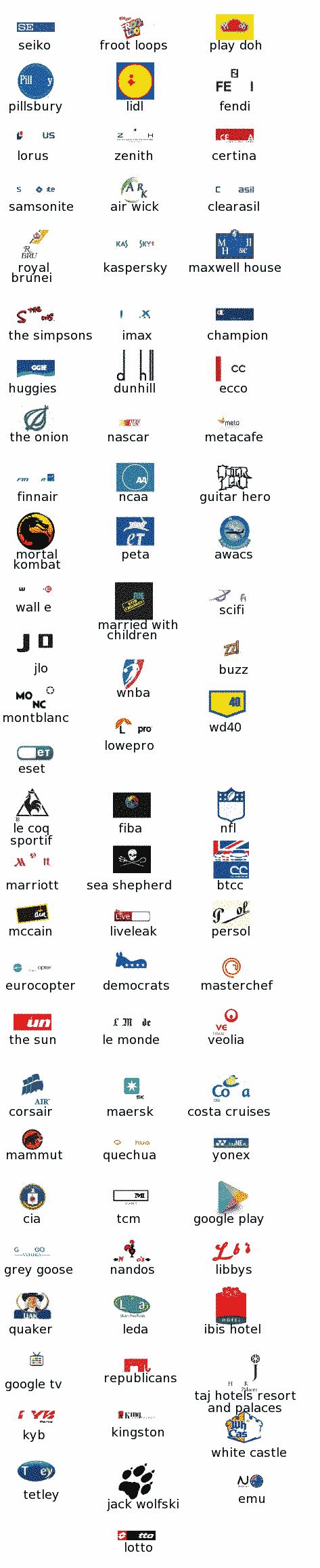 Logo Quiz Answers Level 13