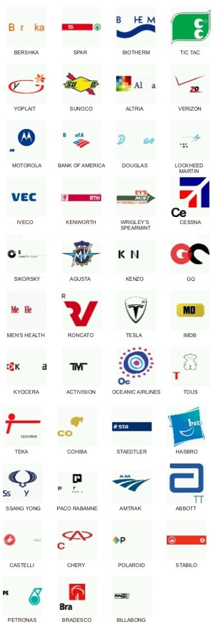 Logos Quiz Lösungen Logos Quiz Answers  blogwurmde